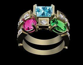 ring female 3D print model