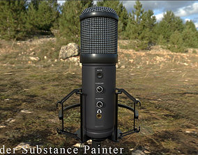 3D asset GXT 256 Exxo USB Streaming Microphone