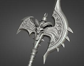 Shadowmourne axe 3D print model