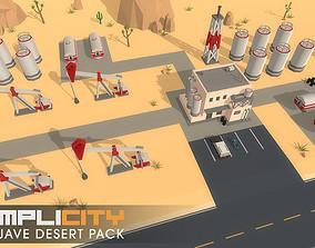 3D asset SimpliCity Mojave Desert