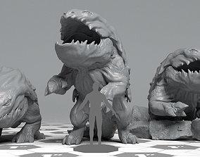 Bullete - DnD Monster - 2 Poses 3D print model