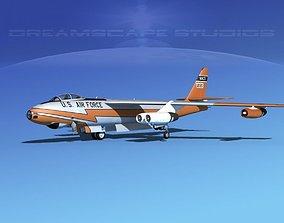 Boeing B-47A Stratojet V04 3D model