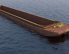 3D asset barge