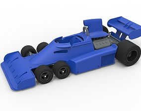 Diecast model Tyrrell P34 Formula 1 Scale 1 to 24