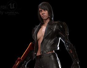 3D model animated CyborgKiller