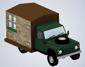 Richard Hammonds motor home Top Gear 3D printable model