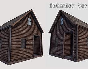 3D asset Boston House 04 - Enterable