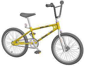 BMX Bike Old School 3D