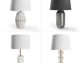 ZARA HOME Lamps Set 3D