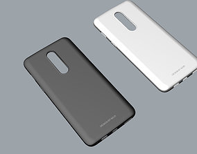 3D print model design oneplus 6 black and white case