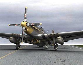 P-51D Mustang for Poser 3D model