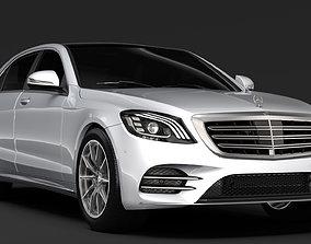 Mercedes Benz S 500 Lang AMG Line V222 2018 3D