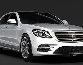 Mercedes Benz S 500 Lang AMG Line V222 2018 3D model