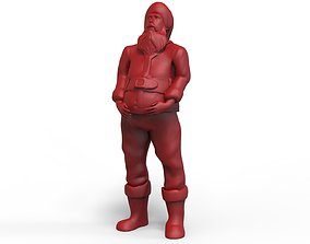 Santa Claus Figurine 3D print model