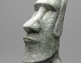 3D model Easter Island Moai Statue