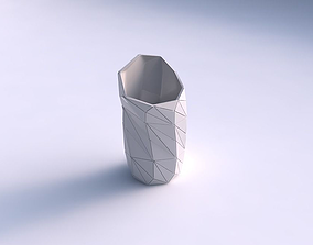 3D print model Vase vortex with triangle plates