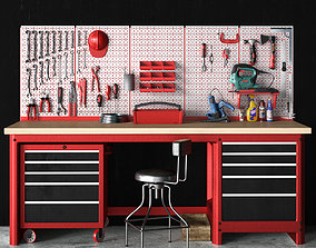3D garage tools set 9