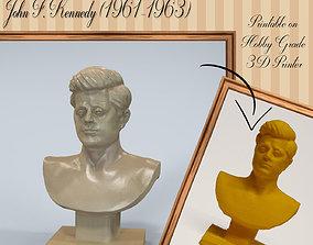 3D printable model John Fitzgerald Jack Kennedy