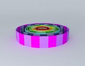 3D model Walls of all ranges 2300