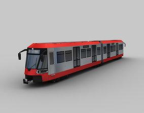 Bombardier Flexity tram 3D model