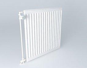 A radiator steel blade H720 L710 3D