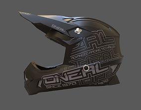 Oneal Motocross Racing Helmet 3D model