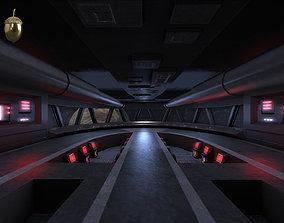 3D asset Star Destroyer Bridge Interior