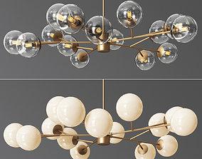 Orion 15 Light Pendant 3D