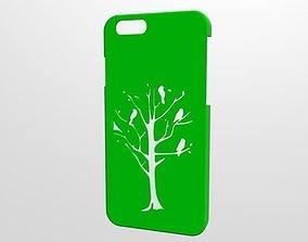 Iphone 6 case Tree 3D printable model
