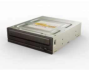 3D model PC DVD Drive