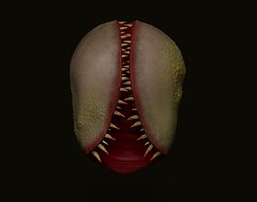 Fungus Undead - Terror Halloween Mask 3D model