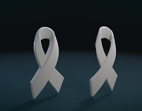 3D print model Cancer Ribbon