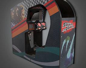 ARC1 - Arcade Cabinet 08 - PBR Game Ready 3D asset