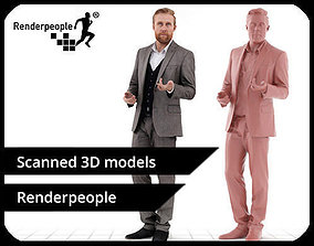 Kent 0403 Standing Business Man 3D