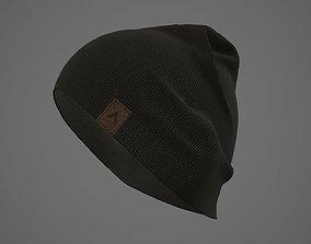 Beanie cap winter hat PBR 3D asset