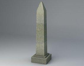 Obelisk Low Poly 3D asset