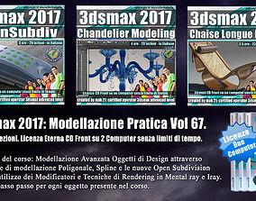 3ds max 2017 Modellazione Pratica Cd Front Vol