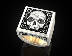 Skull Secret Compartment 3D printable model