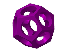 Dodecahedron 3D printable model