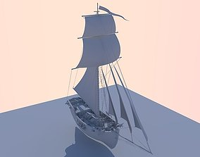 HMS Aldebaran 3D