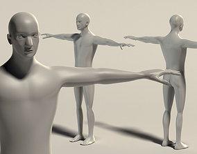 3D Base Mesh Man - Simple Detailed