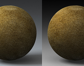 Sand Landscape Shader 022 3D model
