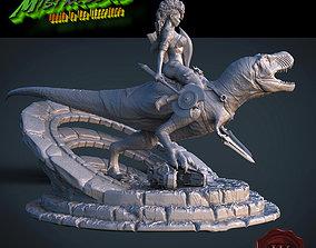 3D print model Ladies of reptiles
