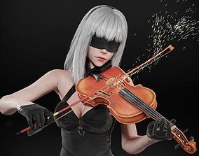 3D model 10E - The Violinist