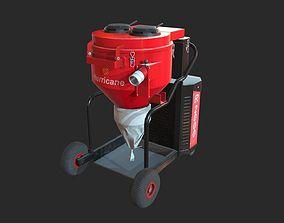 Vacuum cleaner Hurricane R2000 3D model