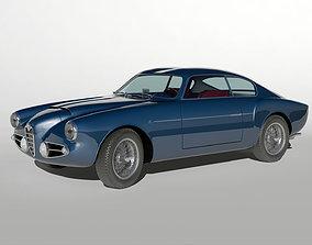 italian Alfa Romeo 1900 SSZ 1956 3D model