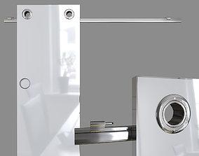 3D model Door opening system -Circle- sliding system