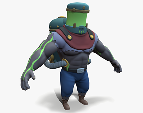 3D model Jarhead with goo tank boss