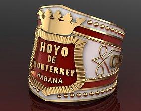 3D printable model Ring Cigar