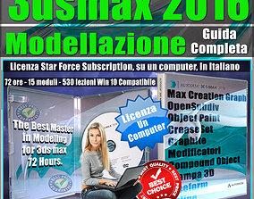Corso 3ds max 2016 Modellazione Guida Completa